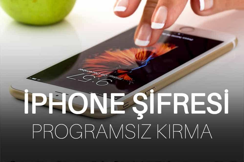 İPhone Şifre Kırma