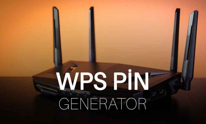 WPS Pin Generator