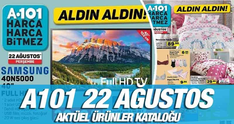 A101 22 Ağustos 2019 Kataloğu