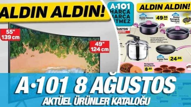 A101 8 Ağustos 2019 Kataloğu