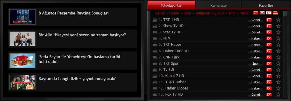 Ulusal Kanal izle