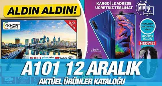 A101 12 Aralık 2019 Aktüel Ürünler Kataloğu!.