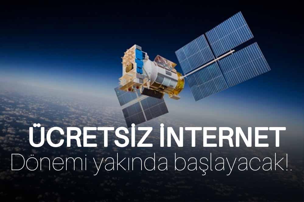 Yakında dünyanın her yerinde ücretsiz internet dönemi başlayacak