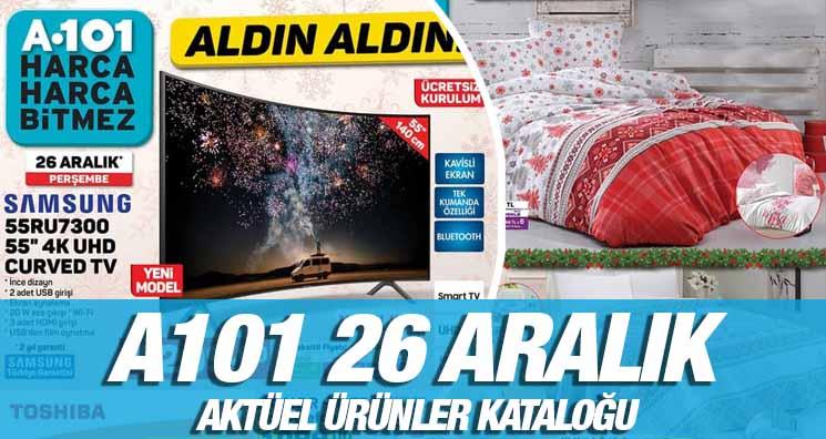 A101 26 Aralık 2019 Fırsatlar ve indirim Kataloğu!.