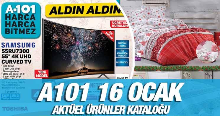 A101 16 Ocak 2020 Aktüel Ürünler Kataloğu Yayınlandı!.