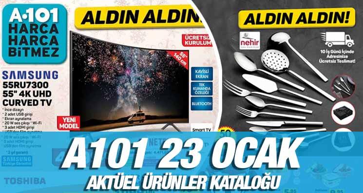 A101 23 Ocak 2020 Aktüel Ürünler Kataloğu
