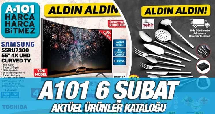 A101 6 Şubat 2020 Aktüel Ürünleri Yayınlandı!.