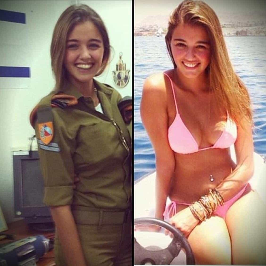 Uniform and Real Life Military Girl