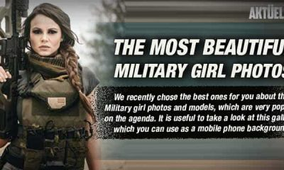 The Most Beautiful Military Girl Photos Gallery
