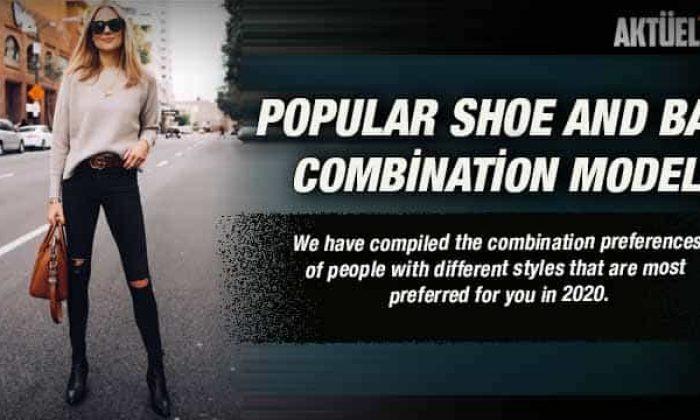 2020 Popular Shoe and Bag Combination Models