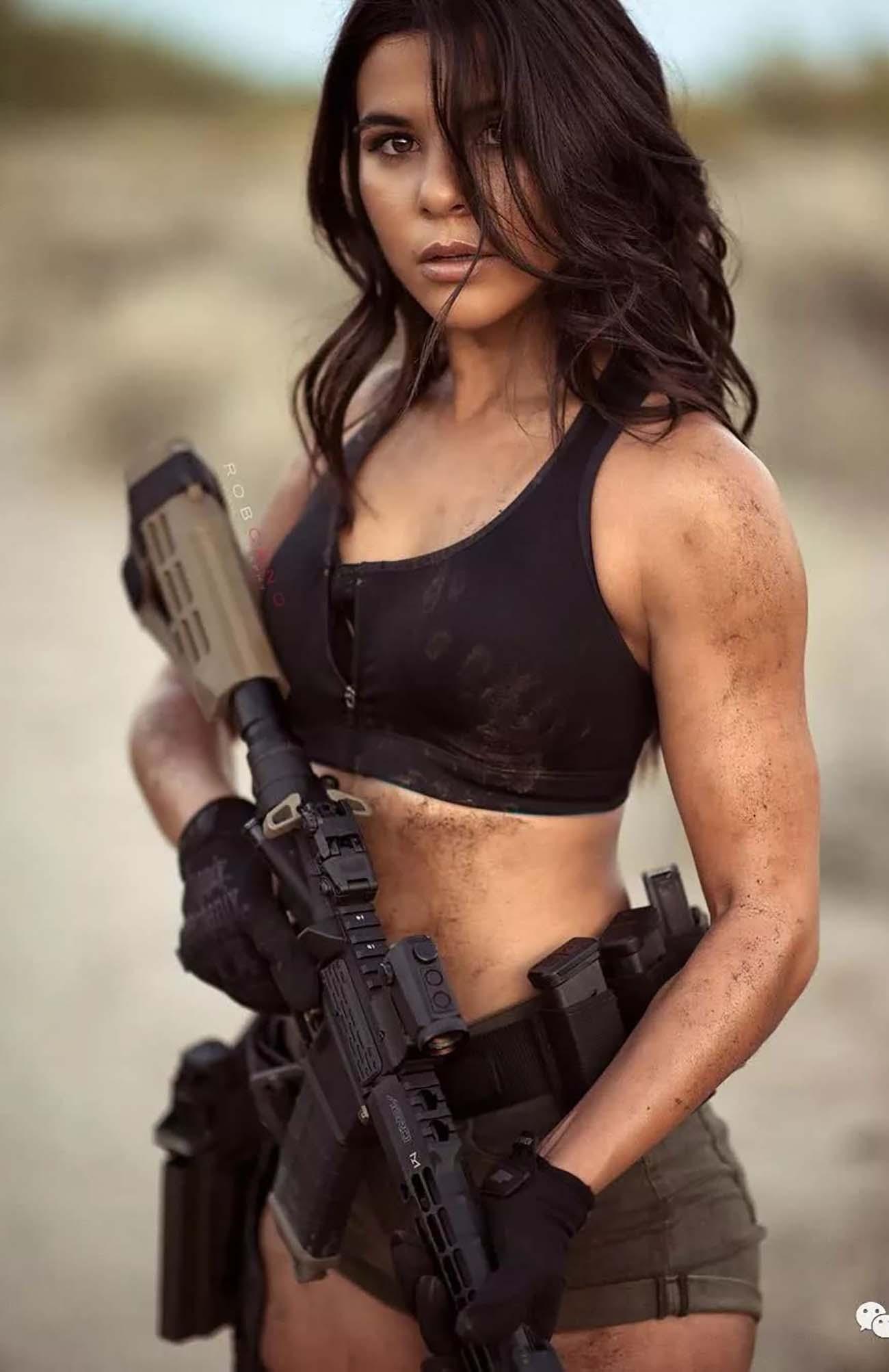 Girl Hunter Photo