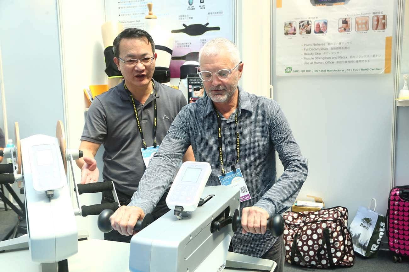 Tayvanlı Firmalar Medikal Ürünlerini Online Tanıttı