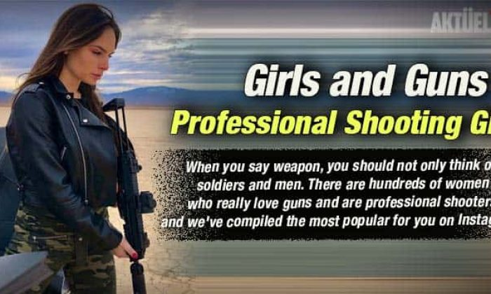 Girls and Guns – Professional Shooting Girl