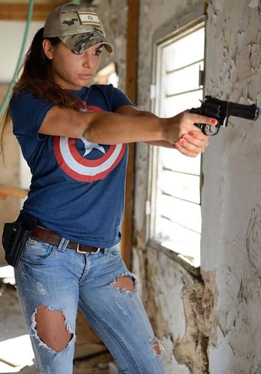 Professional Shooting Girl