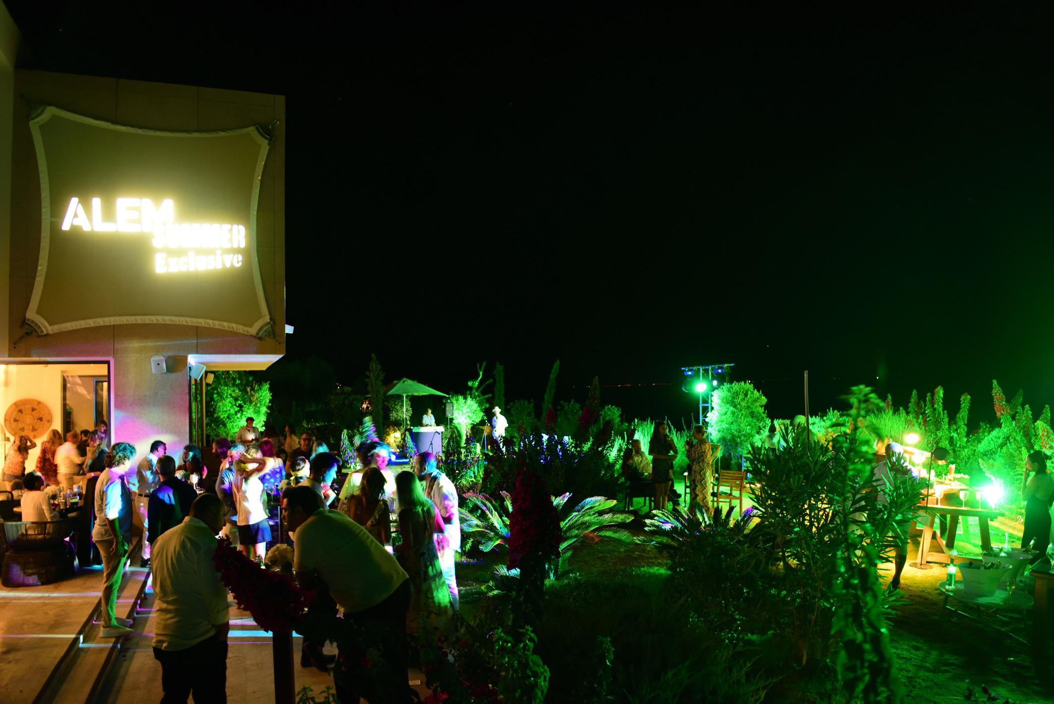 Bodrum'un en ses getiren partisi: Alem Summer gerçekleşti!
