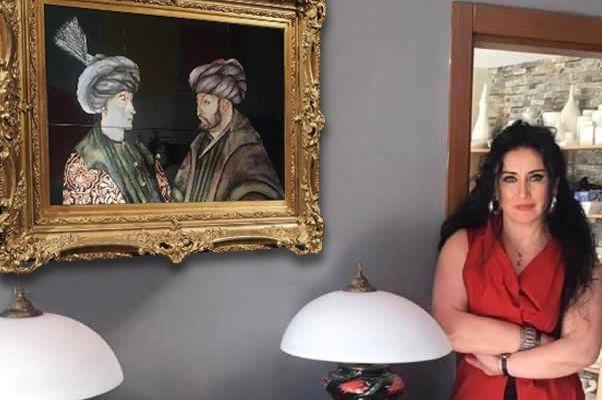 O Sanatçı, O Tabloyu Çini ile Ölümsüzleştirerek Sürpriz Yaptı