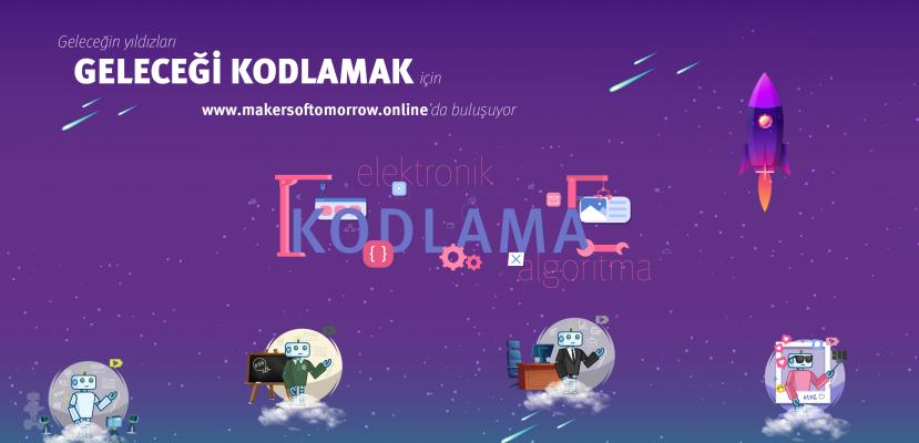 Makers of Tomorrow Türkiye'nin dört bir yanındaki çocuklarla buluşuyor