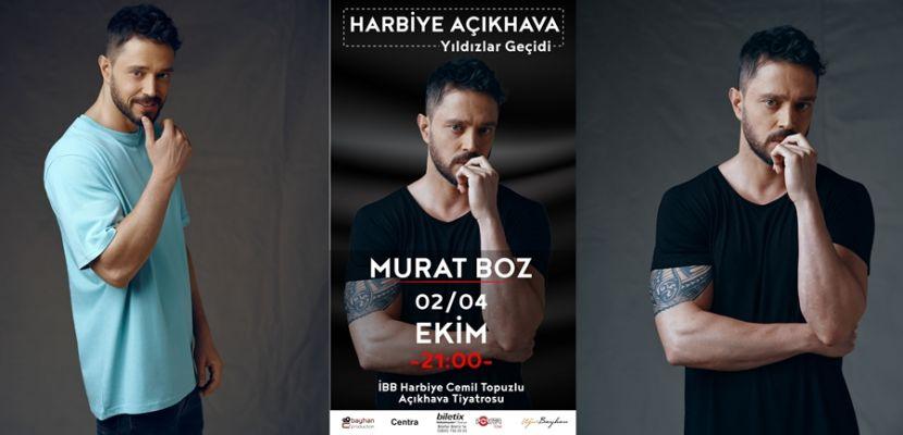 Murat Boz 3 Konserle Açıkhava'da