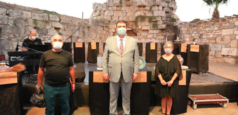 Yılların emeği cam eserler Kaleiçi'nde sergilendi