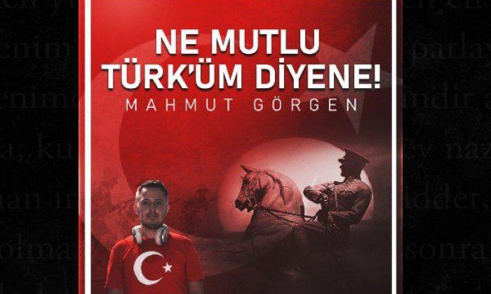 Mahmut Görgen'den 29 Ekim'de anlamlı bir proje