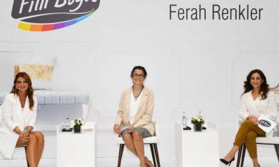 Ünlü oyuncu Pelin Karahan'ın katılımıyla filli boya ferah renkler kartelası tanıtıldı