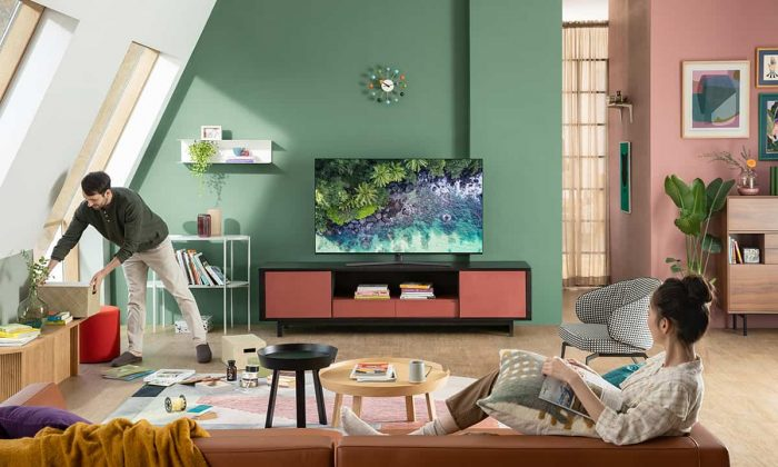 Crystal UHD 4K Smart TV ile oyunlar artık daha gerçekçi!