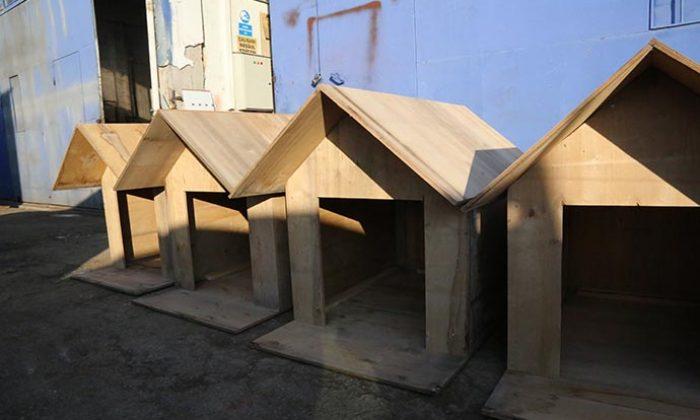 Gölbaşı Belediyesi atıklardan sokak kulübesi üretti …