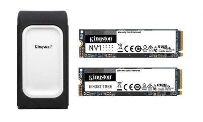 Kingston yeni SSD ve harici USB'lerini tanıttı