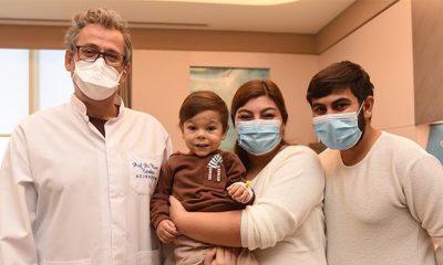Minik kalbi 3 yılda 4 ameliyatla hayata tutundu