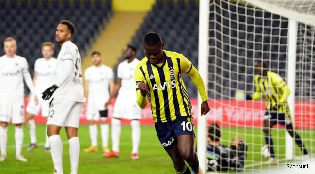 Ziraat Türkiye Kupası'nda Fenerbahçe adını çeyrek finale yazdırdı