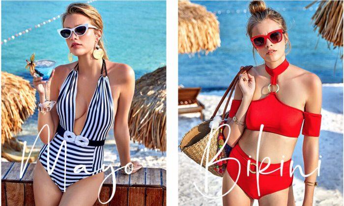 Desenli Bikini Modelleri