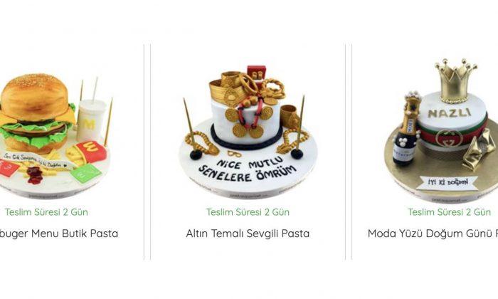 Birbirinden Özel Pasta Tasarımları Sizi Bekliyor