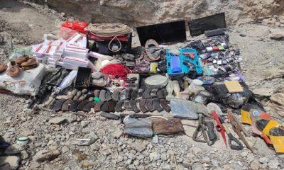 Pençe-Yıldırım ve Pençe-Şimşek Operasyonları Kapsamında Terör Örgütü PKK'ya Ait 2 Girişli 14 Odalı Bir Mağara Tespit Edildi